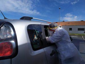 Tests PCR à Mortagne sur Sèvre  17/11/2020